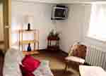 Our common room with satelite TV